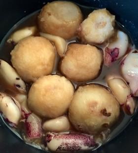 里芋とイカの煮物 *ストウブ
