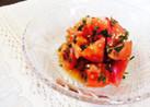 ☆5分で完成☆トマトと青じそのサラダ