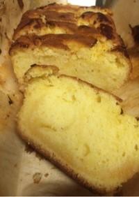 レモンカードでパウンドケーキ