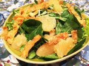 ★ルッコラとグレープフルーツのサラダの写真