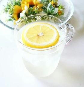 はちみつレモン水☆