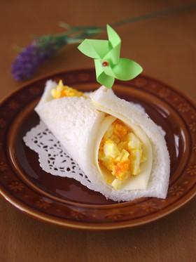 サンドシナイッチ☆タマゴサラダとチーズ