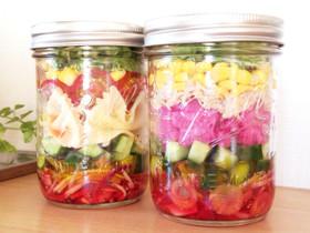 カラフル野菜deジャーサラダ