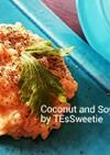 ココナッツ×豆乳のクリーミーリゾット♪