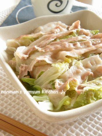 超簡単*とろける白菜&豚バラ(塩味)