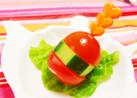 お弁当の隙間埋め♡野菜バーガー