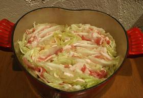 子供も喜ぶ!白菜と豚バラのミルフィーユ鍋