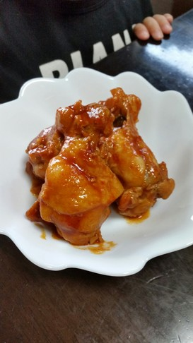 鶏手羽元のピリ辛ケチャップ煮♪♪♪