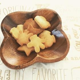 サクボリ♪♪ノンバターで強力粉クッキー