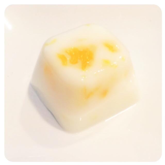 《離乳食後期》牛乳オレンジ寒天