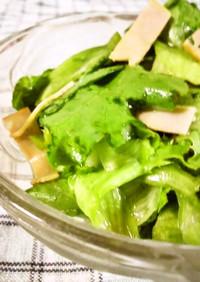 給食を再現 グリーンサラダ (*ノωノ)