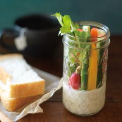 ツナと豆腐マヨネーズの野菜スティック