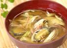 『茄子と茗荷の味噌汁』夏の定番味噌汁!