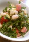 ケールと白豆のサラダ