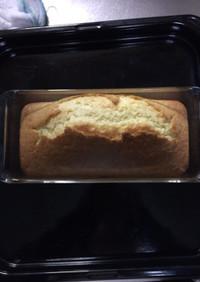 HMでプレーンパウンドケーキ