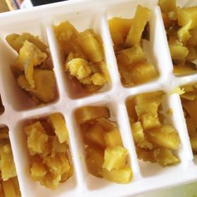 ★離乳食中期★サツマイモ