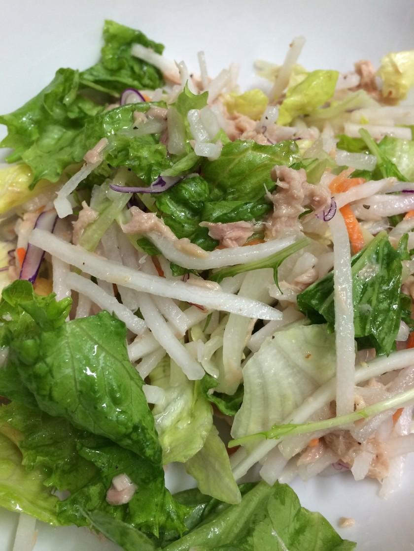 時短♪カット野菜とツナのイタリアンサラダ