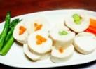 とにかく簡単*鶏ハム風アレンジ*野菜巻き