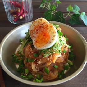 白滝と切り干し大根のキムチダイエット麺