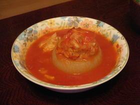 玉ねぎの肉詰め・トルコ風