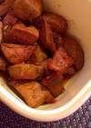 【生姜】とりレバーのしょうが煮