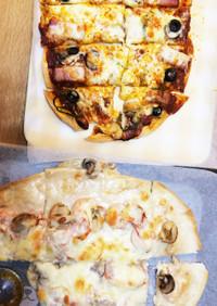 オーブンで簡単なピザ