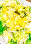 ★簡単★水菜新玉ねぎたまごのサラダ