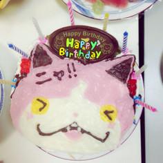 簡単!キャラクターケーキ