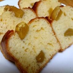 シロップも使用☆栗の甘露煮ケーキ