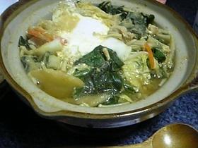 味噌汁 de 華麗なるwahooカレー鍋