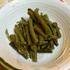 山菜*わらびの酢みそ和え*