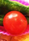 お弁当に簡単ヘタなしプチトマト安心下処理