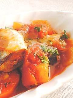 圧力鍋でいわしのトマト煮♪