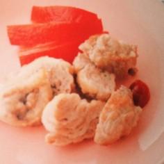 離乳食完了期☆豚肉のムニエル