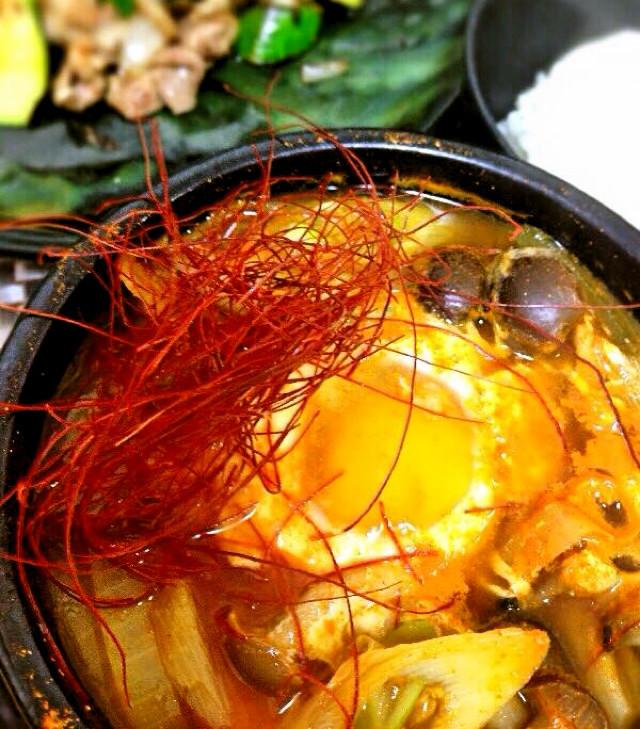 まろやか本場の味☆純豆腐☆スンドゥブチゲ