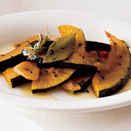 かぼちゃのローズマリー風味マリネ