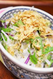 大根と水菜のサラダの写真