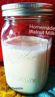 自家製くるみミルクでアンチエイジング♪の写真