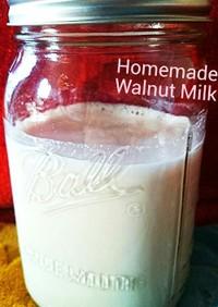自家製くるみミルクでアンチエイジング♪