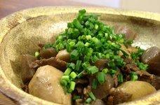 牛肉と里芋のコク旨煮◆赤ワインが決め手