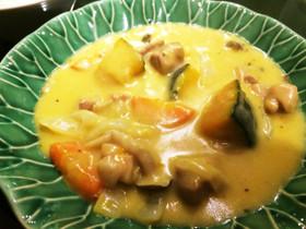 NZ産かぼちゃと鶏肉のクリーム煮