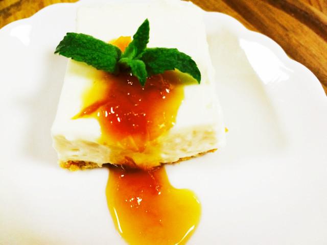 とうふクリームで!☆レアチーズケーキ☆