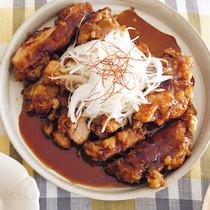 ジューシー黒酢チキン