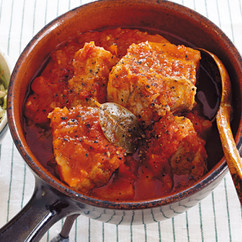 豚バラのトロトロトマト煮