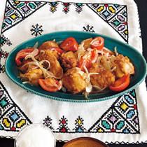 鶏のトマト南蛮