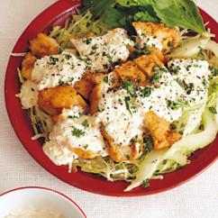 野菜たっぷりチキン南蛮