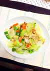 彩野菜炒め