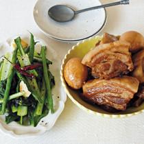 ハチミツ角煮(写真右)