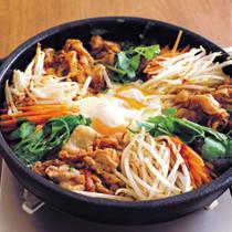 もやしと豚肉の韓流炒め鍋