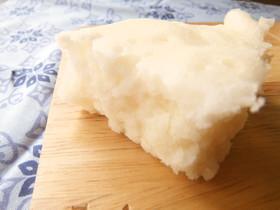アレルギー対応、5分で米粉蒸しパン